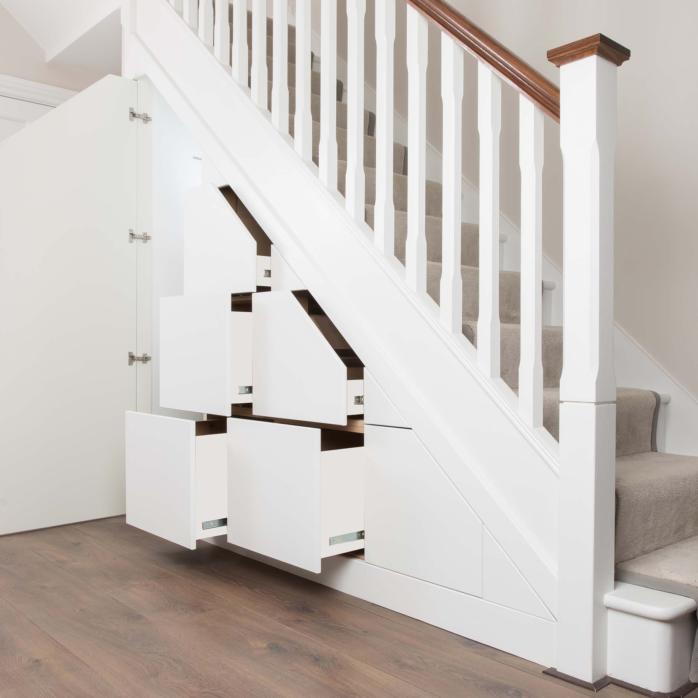 12 Storage Ideas For Under Stairs: Staircase Storage